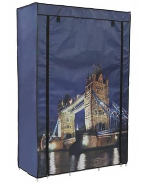 ASKO - NÁBYTOK Látková skriňa Tower Bridge%