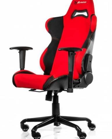 Herná stolička Arozzi Torretta čierno-červená TORRETTA-RD + ZDARMA podložka pod myš a hub
