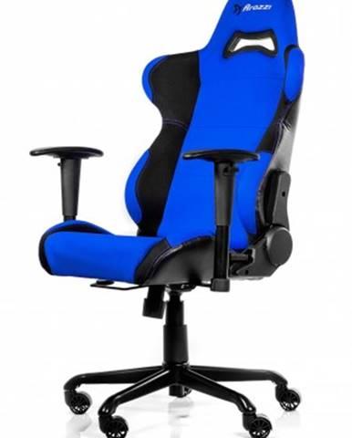 Herná stolička Arozzi Torretta čierno-modrá TORRETTA-BL + ZDARMA podložka pod myš a hub