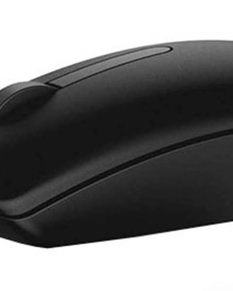 Dell Drôtová myš Dell MS116, čierna + Zdarma podložka Olpran