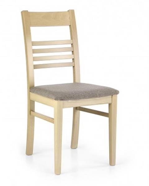 OKAY nábytok Jedálenská stolička Juliusz béžová, dub