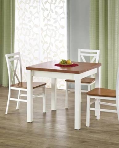 Jedálenský stôl Gracjan rozkladací 80-160x80 cm