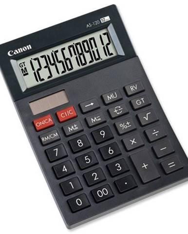 Stolná kalkulačka Canon AS-120, čierna