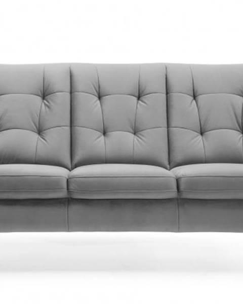 OKAY nábytok Trojsedačka Scandi sivá