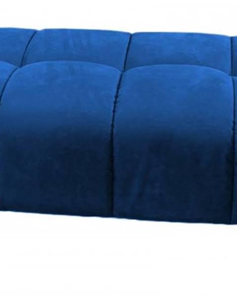 OKAY nábytok Taburetka Treviso obdĺžnik modrá