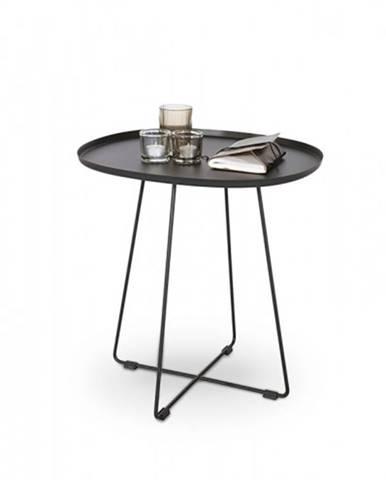 Tina - Konferenčný stolík ocelový čierny