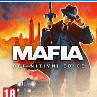 PS4 hra - Mafia: Definitive Edition