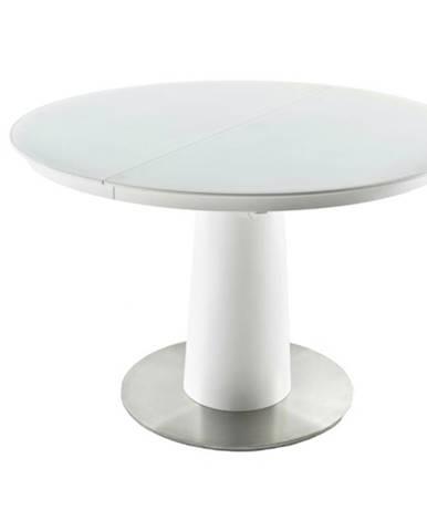 Jedálenský stôl ERNST matná biela
