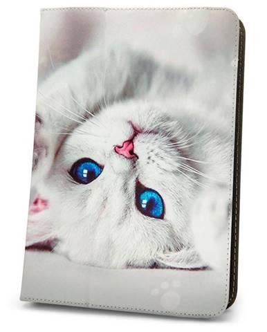 """Púzdro na tablet flipové GreenGo Cute Kitty na tablet 7-8"""""""