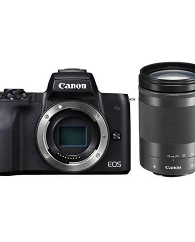 Digitálny fotoaparát Canon EOS M50 + M 18-150 IS STM čierny