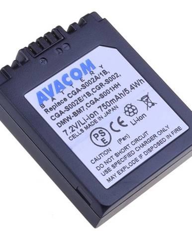 Batéria Avacom Panasonic CGA-S002/DMW-BM7 Li-ion 7,2V 750mAh