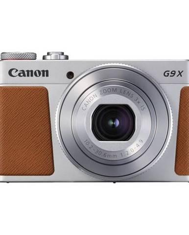 Digitálny fotoaparát Canon PowerShot G9 X Mark II strieborný