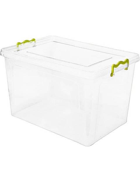 Banquet Aldo Plastový úložný box 15,5 l, biela