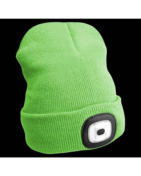 Sixtol Sixtol Čiapka s čelovkou 45 lm, USB, uni, zelená