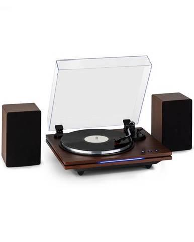 Auna TT-Play PLUS, gramofón, reproduktory, 20Wmax., BT, 33/45, rpm
