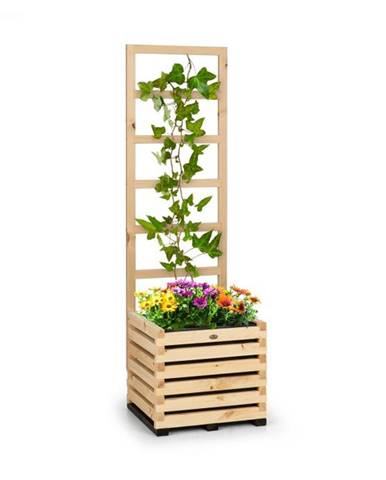 Blumfeldt Modu Grow 50, súprava vyvýšeného záhona a mriežky, 50 x 151 x 45 cm, borovicové drevo, bublinková fólia
