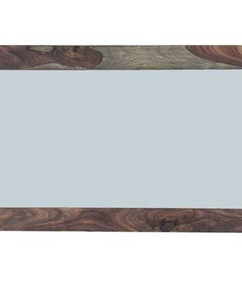 Bighome.sk GREY WOOD Zrkadlo 130x70 cm, palisander