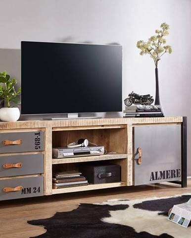 FABRICA TV stolík 200x66cm, mango