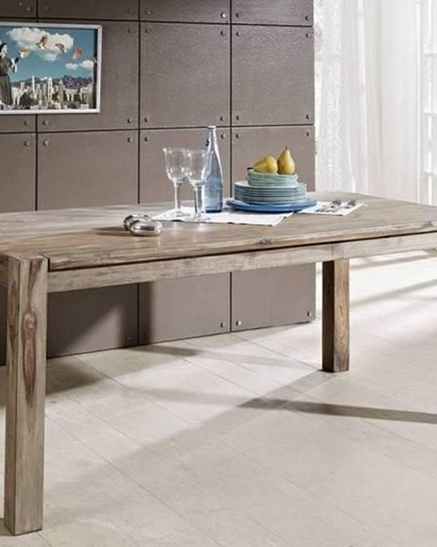 Bighome.sk GREY WOOD Jedálenský stôl 140x90 cm, palisander