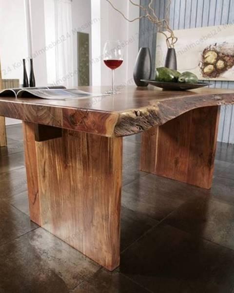 Bighome.sk METALL Jedálenský stôl 190x110 cm, akácia