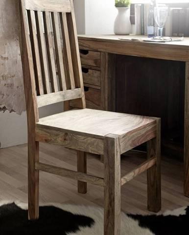GREY WOOD Jedálenská stolička drevená