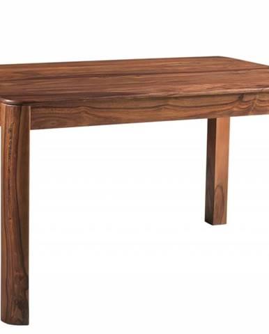 MONTREAL Jedálenský stôl 140x90 cm, hnedá, palisander