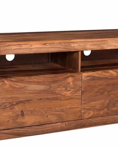 MONTREAL TV stolík 130x58 cm, hnedá, palisander