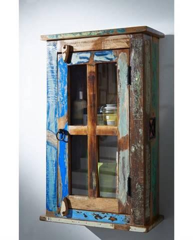 OLDTIME BAD Skrinka 72x44 cm, staré drevo