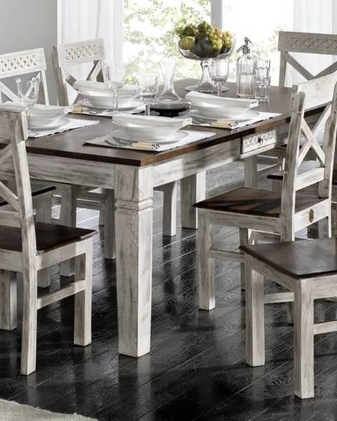 Bighome.sk ANTIK Jedálenský stôl 150x90 cm, mango a akácia