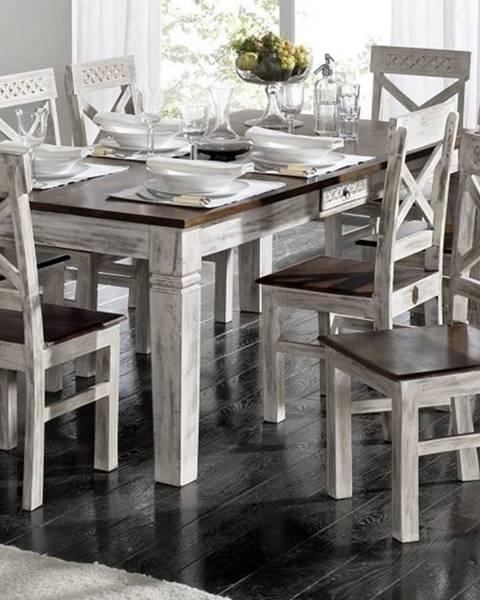 Bighome.sk ANTIK Jedálenský stôl 170x90 cm, mango a akácia