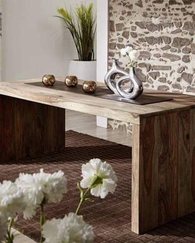 GREY WOOD Písací stôl 200x90 cm, palisander