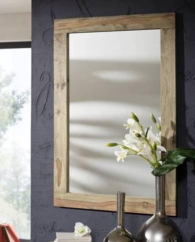 GREY WOOD Zrkadlo 118x80 cm, palisander