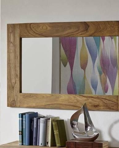 LIGHT WOOD Zrkadlo 110x70 cm, palisander