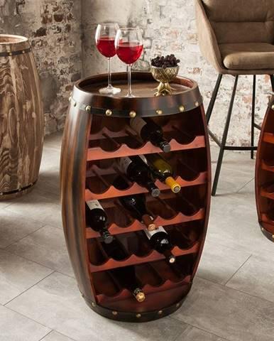 Regál na víno CASK 80 cm