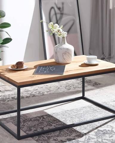 TIROL Konferenčný stolík 100x80 cm, prírodná, dub