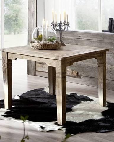 CASTLE Jedálenský stôl 100x100 cm, palisander
