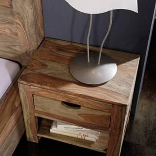 GREY WOOD Nočný stolík 50x35 cm, palisander