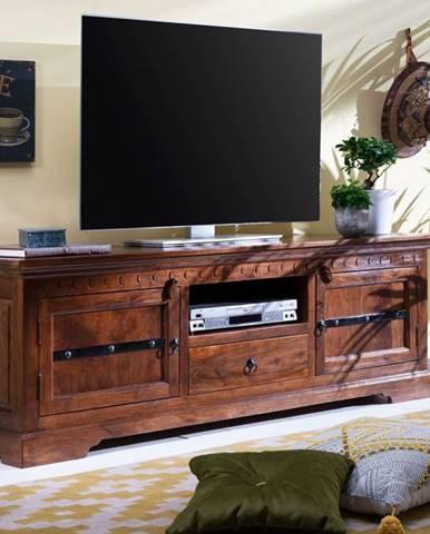 CAMBRIDGE TV stolík 170x55 cm, akácia