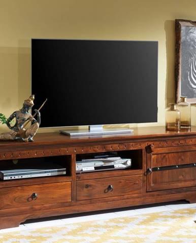 CAMBRIDGE TV stolík 180x55 cm, akácia