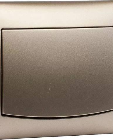 Vypínač jednoposteľová satén V LP-1V
