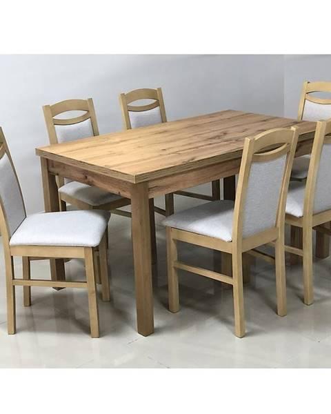 MERKURY MARKET Jedálenský stôl St-874 140x80+40
