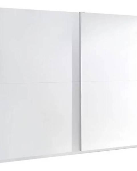 MERKURY MARKET Skriňa Lux 3 244 cm  biela  lesklá