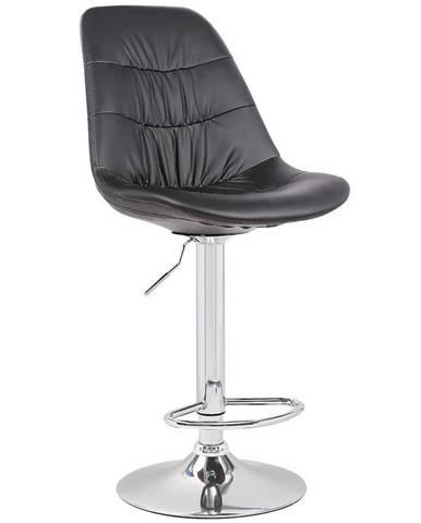 Barová stolička Pulsar čierna 7386
