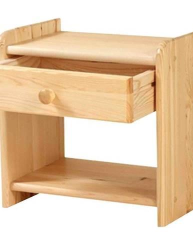 Nočný stolík borovica