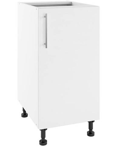 Kuchynská skrinka Luna Bianco Super Mat POW 40