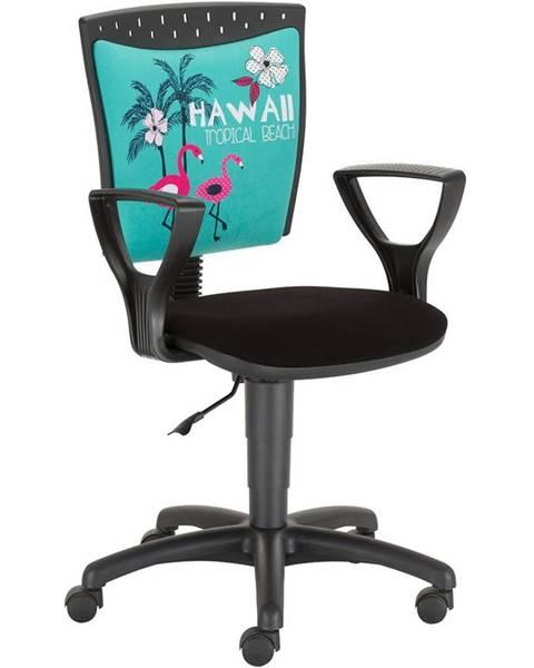 MERKURY MARKET Kancelárska stolička Stilo 09 Hawaii