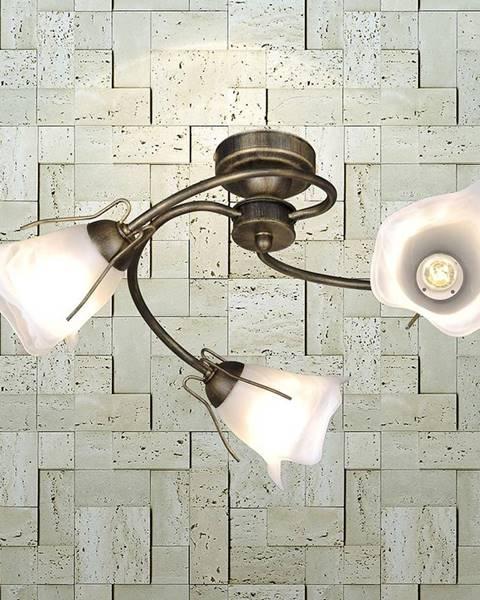 MERKURY MARKET Lampa Spirala KZ-246 PL3 čierna/zlatá