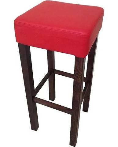 Barová stolička 80 kol 6 tap giovanni 10 červená