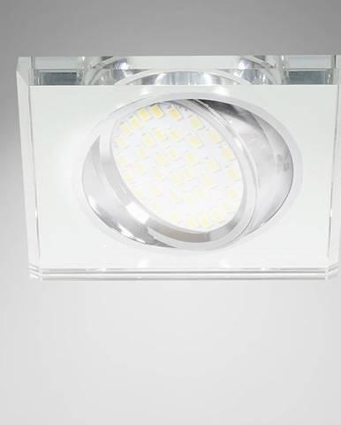 Stropné svietidló SSU-13 CH/WH MR16 štvorcový 2263069
