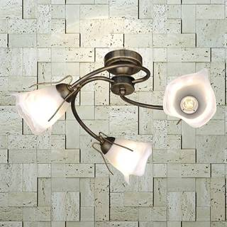 Lampa Spirala KZ-246 PL3 čierna/zlatá